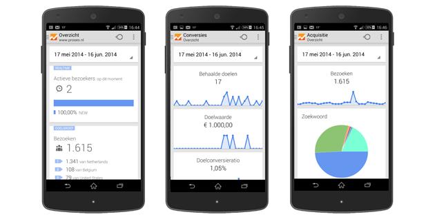 nieuwe update google analytics voor andoird