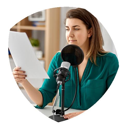 Zakelijke podcasts opnemen. Bind je doelgroep met een podcast voor ondernemers.