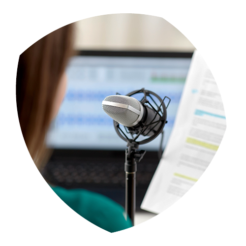 Zakelijke podcasts laten maken